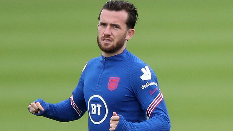 Ben Chilwell was an unused member of England's squad for Euro 2020