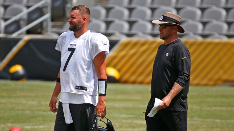 Could it be a case of opposites attract for Big Ben and Matt Canada in Pittsburgh?