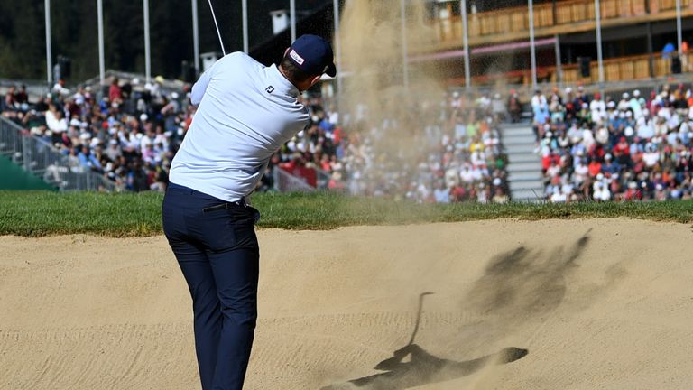Bernd Wiesberger found water at the last and double-bogeyed