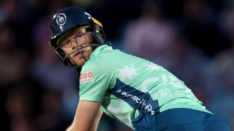 Sam Billings produced a captain's performance as Oval Invincibles maintained their 100 per cent record on home soil