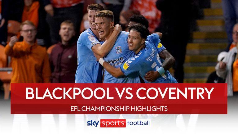 Blackpool v Coventry