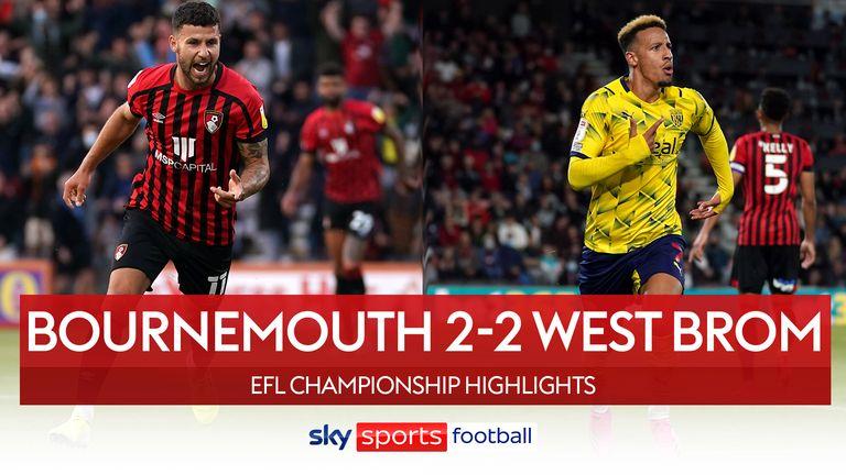 Bournemouth 2-2 West Brom