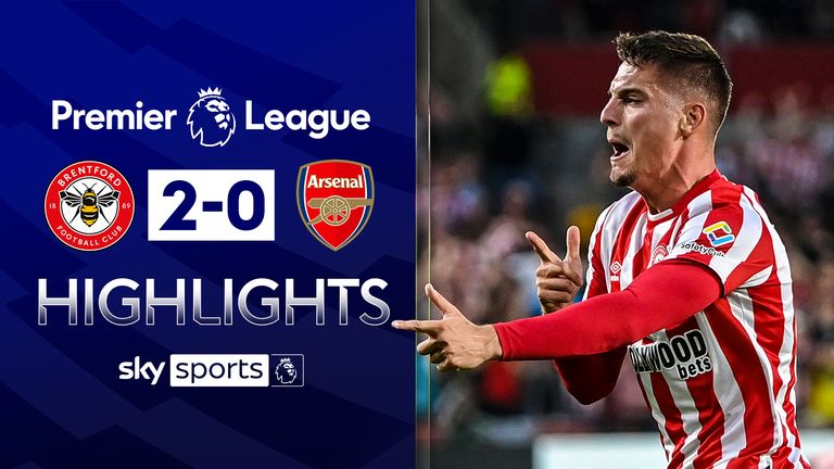 Brentford 2-0 Arsenal
