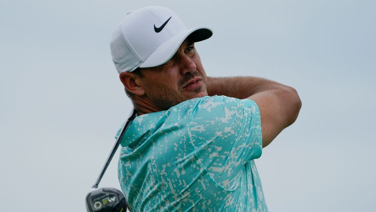 The top shots from the second round of the opening FedExCup Playoff event at Liberty National, where world No 1 Jon Rahm seized the lead at the halfway stage.