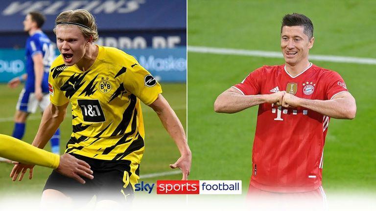 Bundesliga striker goals
