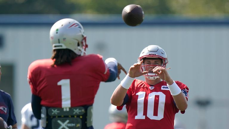Tom Pelissero reports the New England Patriots have released Cam Newton and have named rookie quarterback Mac Jones their Week 1 starter.