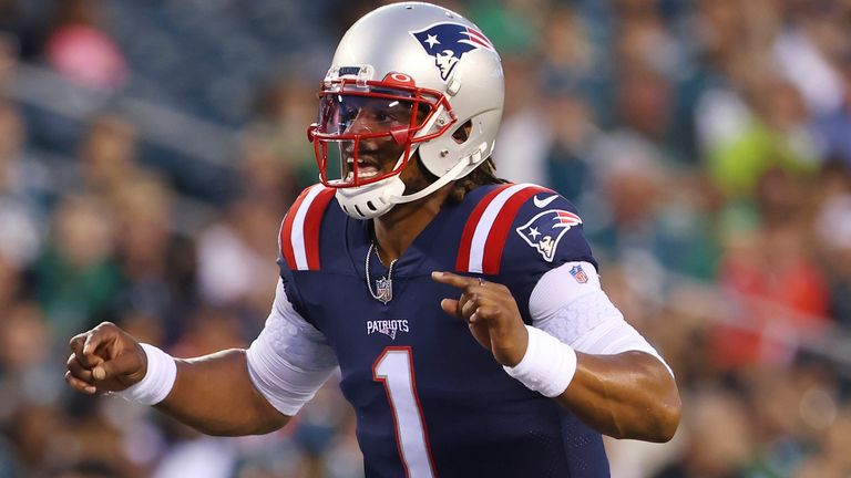 Watch the highlights of former New England Patriots quarterback Cam Newton, from the 2020 NFL season.