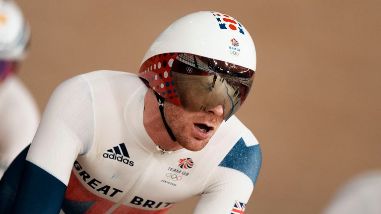 Ed Clancy is the most successful team pursuit rider in Olympic history
