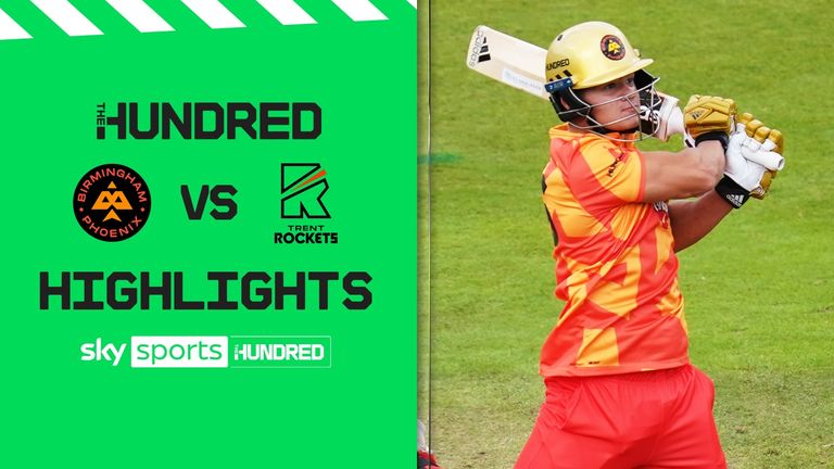 Birmingham Phoenix chased down 145 with ease as Trent Rockets saw their perfect record in the Hundred ended.
