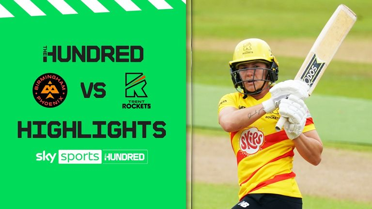 Heather Graham blasted 44 off just 21 balls as Trent Rockets recorded their second straight win in the Hundred against Birmingham Phoenix.