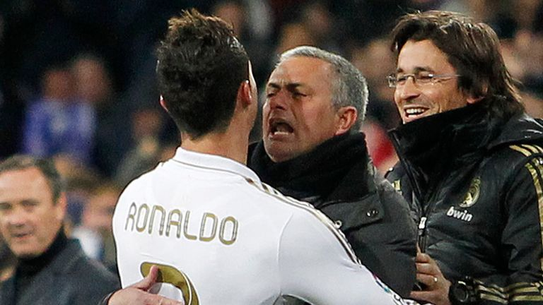 Jose Mourinho managed Cristiano Ronaldo during his time as Real Madrid boss from 2010-2013