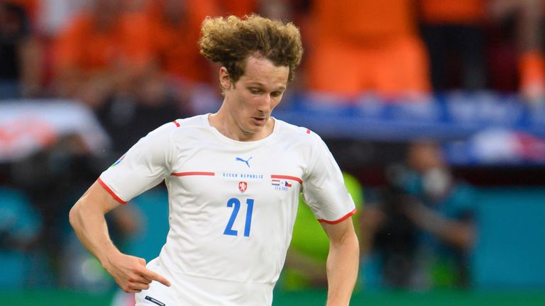 Alex Kral has already made 22 appearances for the Czech Republic and was part of the squad for Euro 2020.