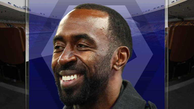 Former Aston Villa and England striker Darius Vassell is now working as an academy coach at Wolves