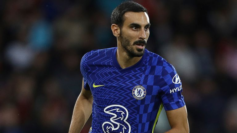 Davide Zappacosta appeared for Chelsea in a pre-season friendly against Bournemouth, but his last competitive appearance for the club was in 2019
