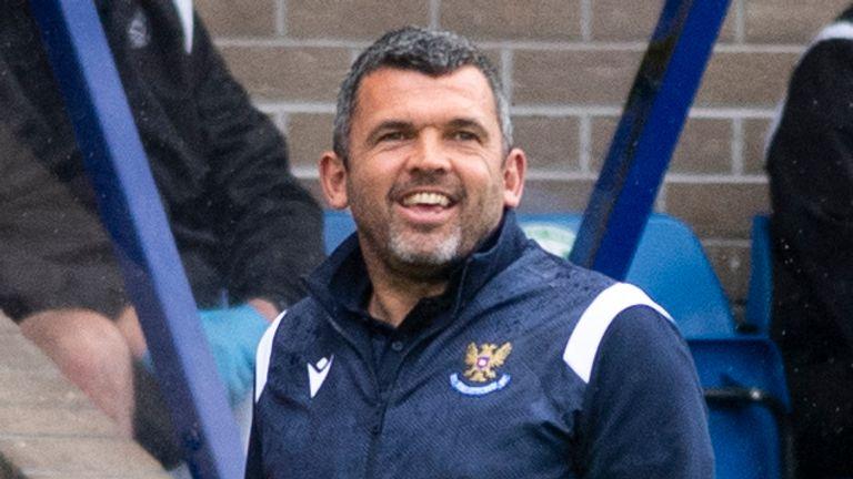 St Johnstone boss Callum Davidson