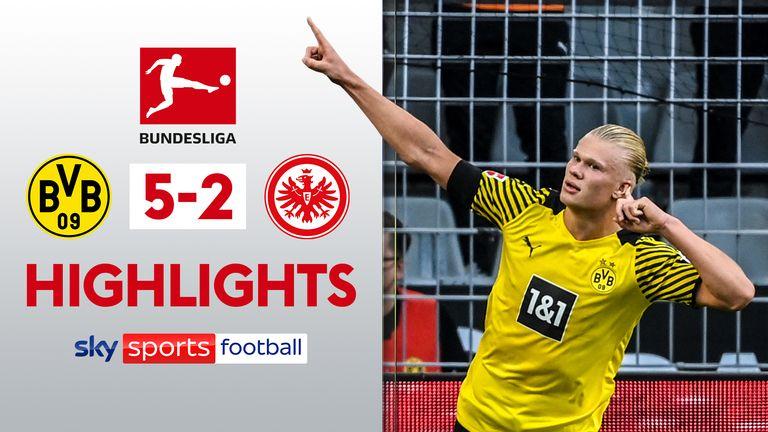 Dortmund v Frankfurt