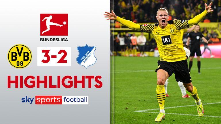 Dortmund 3-2 Hoffenheim