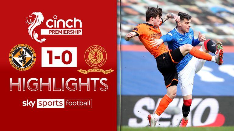 Dundee Utd 1-0 Rangers