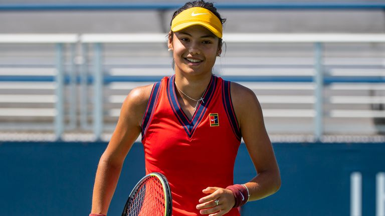 British teenager Emma Raducanu made a strong start to her bid to reach the US Open main draw