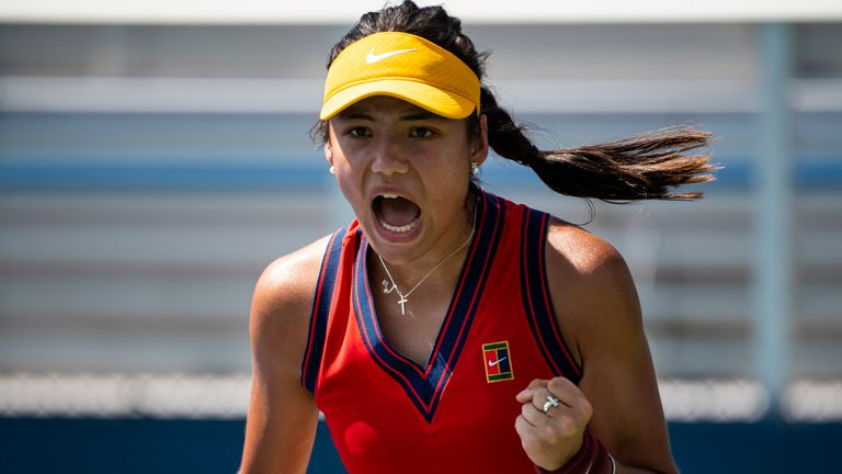 Emma Raducanu has reached the main draw of her first overseas Grand Slam