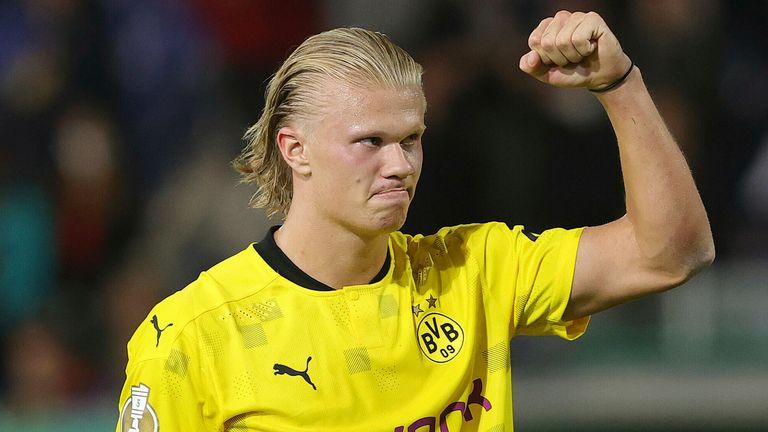 Erling Haaland a excelat în Liga Campionilor sezonul trecut