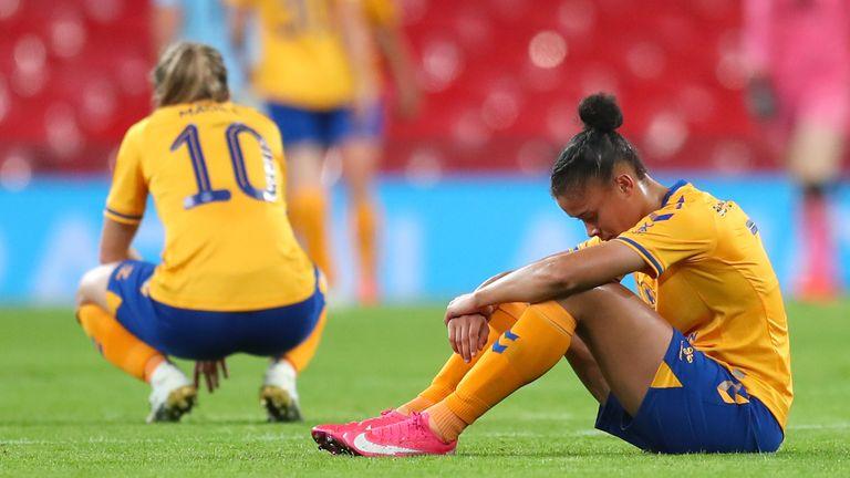 L'Everton Women's è stata sconfitta nella finale della FA Women's Cup 2019/20 dal Man City