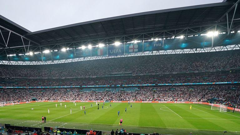 Wembley, Euro 2020 final