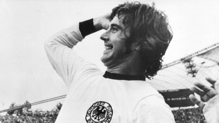 Gerd Muller scored the winning goal for West Germany in the 1974 World Cup final against the Netherlands