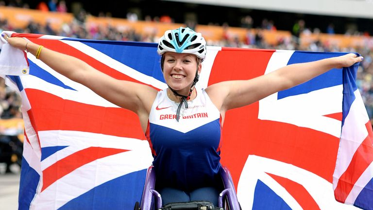 Hannah Cockcroft is a five-time Paralympic champion