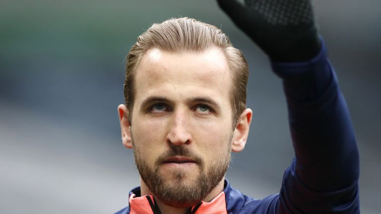 Manchester City target Harry Kane is contracted to Tottenham until 2024
