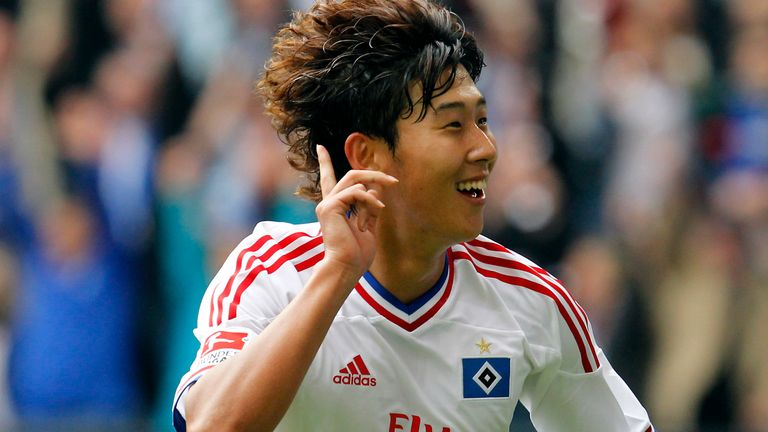 Heung-Min Son began his professional career with Hamburger SV, moving to Germany at the age of 16