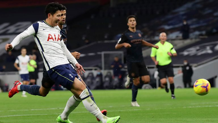 The Tottenham winger has scored in his last three home appearances against Man City