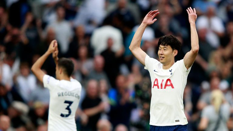 Son proved the difference again for Spurs