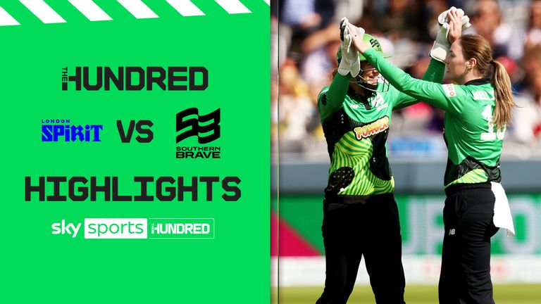 Watch the highlights of London Spirit against Southern Brave from Lords
