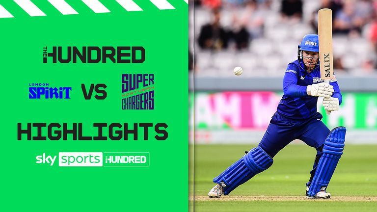 Highlights of the London Spirit against the Northern Superchargers