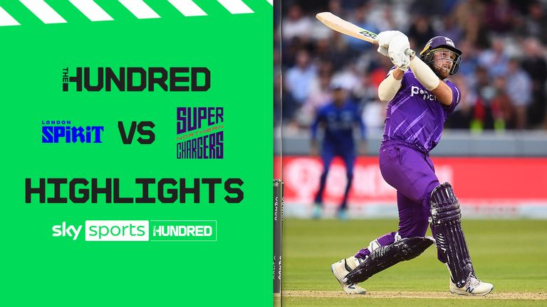 The best of the action as London Spirit faced Northern Superchargers in The Hundred.