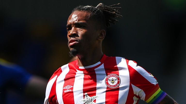 Ivan Toney looks set for his first Premier League game since the 2015/16 season when Arsenal visit west London on Friday