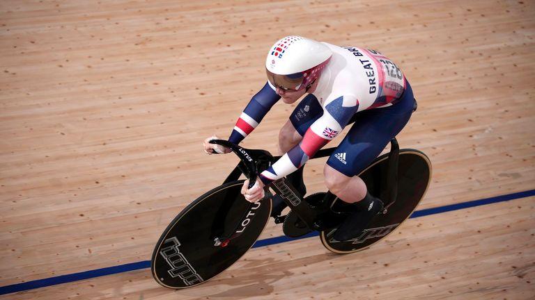 Jack Carlin of Team GB
