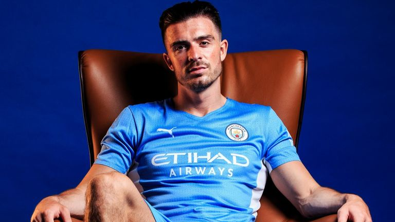 Jack Gre Grealish has joined Manchester City for £100m (Credit: Man City)