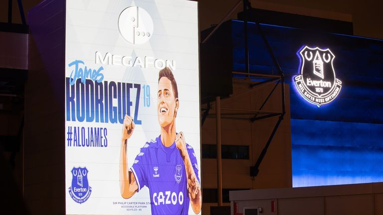 Rodriguez illuminated Goodison Park when he joined