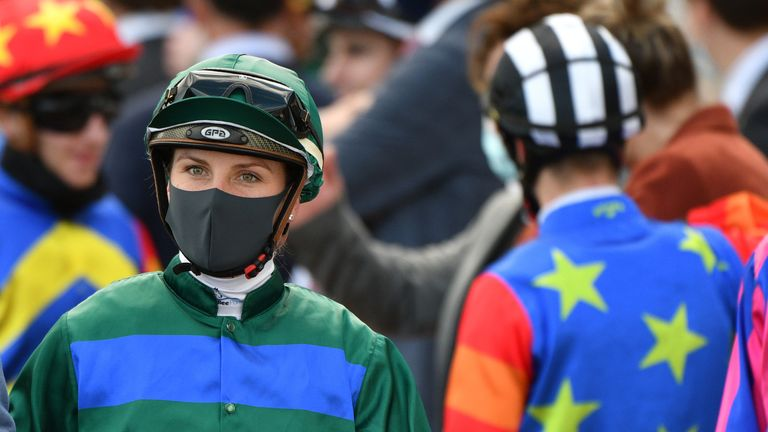 Jamie Kah and three other riders have been suspended for three months
