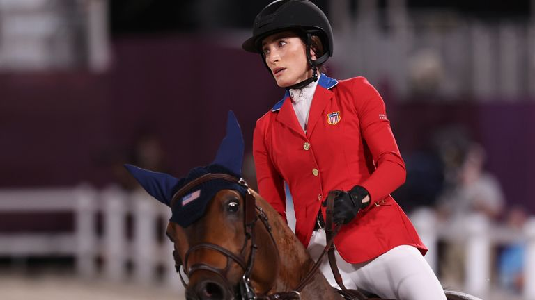 Jessica Springsteen will compete for the USA in team showjumping