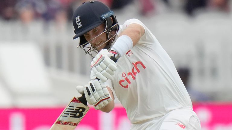 Root's hundred was his second in successive Tests against India