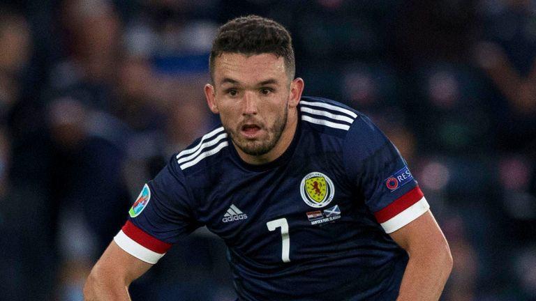 John McGinn will miss Scotland's World Cup Qualifier against Denmark after testing positive for coronavirus