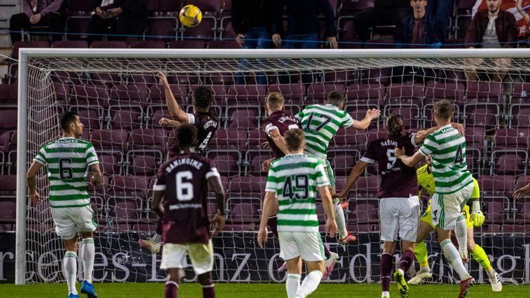 SNS - John Souttar scores winner for Hearts against Celtic