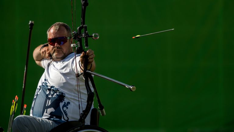Stubbs is competing at his fourth Paralympic Games