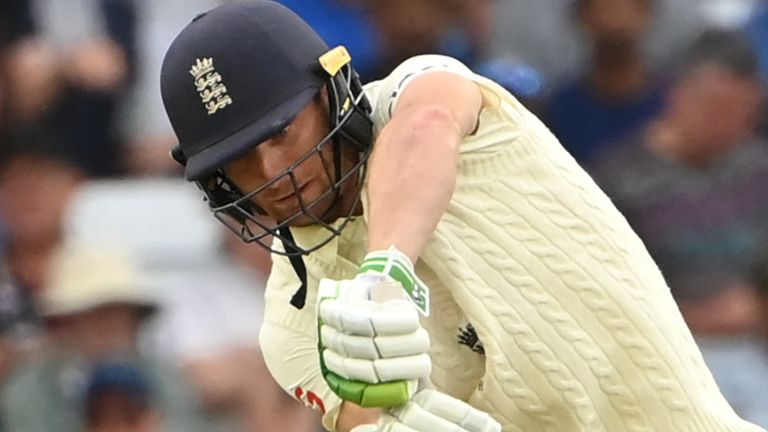 England batsman Jos Buttler was out for a duck on day one of the first Test against India