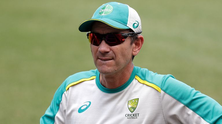 Justin Langer's position as head coach of Australia is under scrutiny