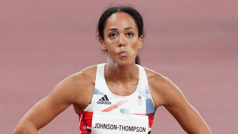 Katarina Johnson-Thompson picked up an Achilles problem last year which appears to have resurfaced