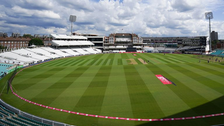 A member of Surrey's squad has tested positive for coronavirus